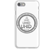 UHID - Black Outline iPhone Case/Skin