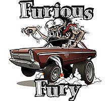 Furious Fury Photographic Print