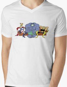 Justice Friends! Mens V-Neck T-Shirt
