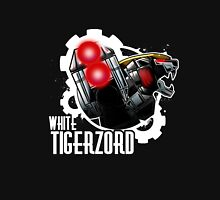 White Tigerzord Power Unisex T-Shirt