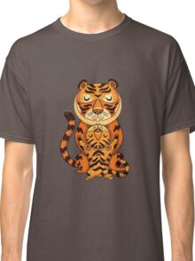 Mom and Baby Tiger together Classic T-Shirt