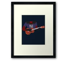 Hollow Strings  Framed Print