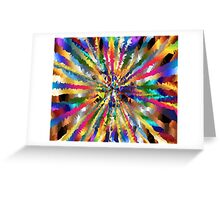 many colours Greeting Card