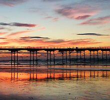 Saltburn Sunset by Alan Ralph