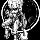 Space Cat is in space! by Richard Pallo