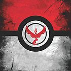 Bad ASH Team Valor Pokemon Go Case - Galaxy Cases by GoGear