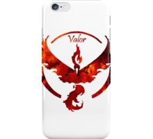 Team Valor Pokemon Go Gear iPhone Case/Skin