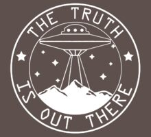 X-files inspired the truth is out there  One Piece - Short Sleeve