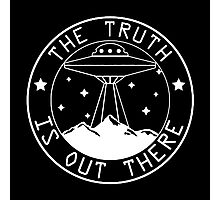 X-files inspired the truth is out there  Photographic Print