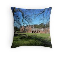 Furness Abbey Throw Pillow
