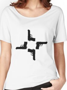 4 guns Women's Relaxed Fit T-Shirt