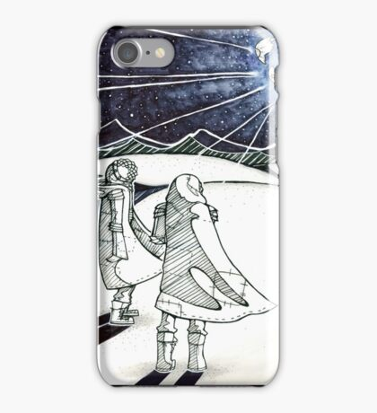 Exploding Moon iPhone Case/Skin