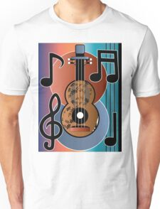 Musical Guitar Unisex T-Shirt