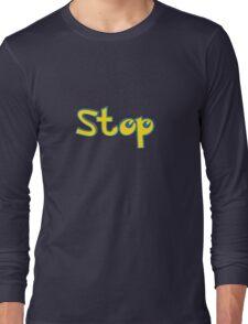 Pokemon Stop Long Sleeve T-Shirt