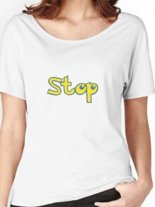 Pokemon Stop Women's Relaxed Fit T-Shirt