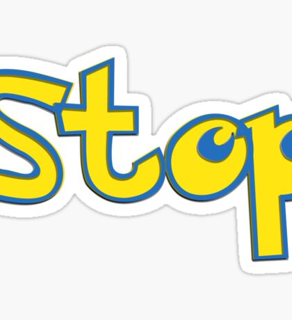Pokemon Stop Sticker