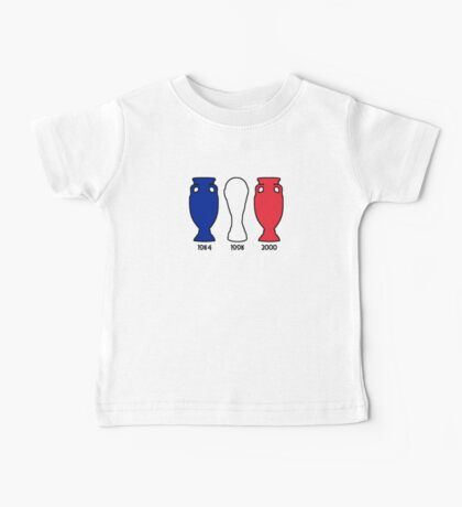 France World Cup and European Championship Trophy Cabinet Baby Tee
