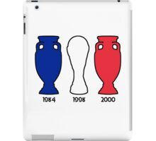 France World Cup and European Championship Trophy Cabinet iPad Case/Skin