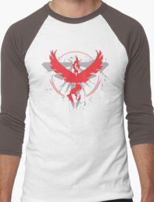 Pokemon Team Valor Shirts Men's Baseball ¾ T-Shirt