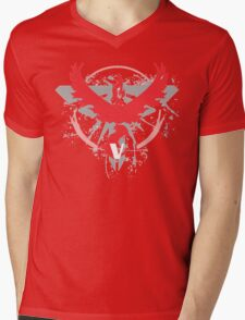 Pokemon Team Valor Shirts Mens V-Neck T-Shirt