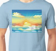 Paper Boat in the Sea 2 Unisex T-Shirt