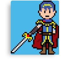 Pixel Hero King Canvas Print