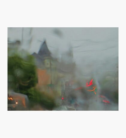 Drizzly San Francisco Morning Photographic Print