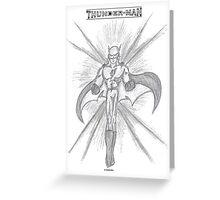 Thunder-Man Greeting Card