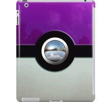 Gengar Monster Purple Pokeball iPad Case/Skin