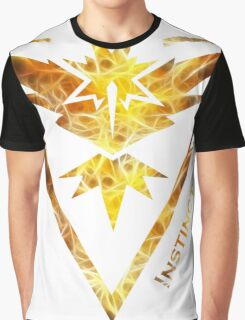 Team Instinct Pokemon Go Gear Graphic T-Shirt
