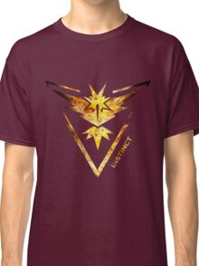 Team Instinct Pokemon Go Gear Classic T-Shirt