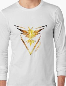 Team Instinct Pokemon Go Gear Long Sleeve T-Shirt