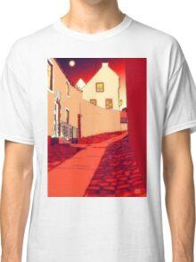 Dysart: Scottish Town digital drawing Classic T-Shirt