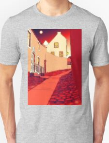 Dysart: Scottish Town digital drawing Unisex T-Shirt