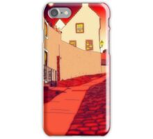 Dysart: Scottish Town digital drawing iPhone Case/Skin