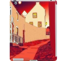 Dysart: Scottish Town digital drawing iPad Case/Skin