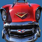 1957 Chevrolet Car T-shirt Design by muz2142