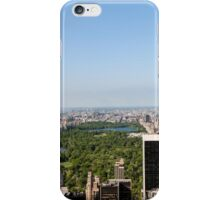 Aerial view of Manhattan, New York City, NY USA  iPhone Case/Skin