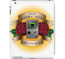 Quit Playing Games With My Heart iPad Case/Skin