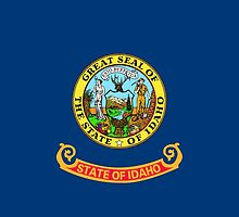 Idaho State Flag by carolinaswagger
