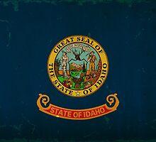 Idaho State Flag VINTAGE by Carolina Swagger