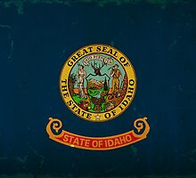 Idaho State Flag VINTAGE by Carolina Swagger