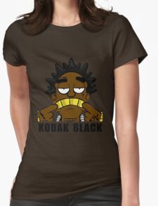 kodak black  Womens Fitted T-Shirt
