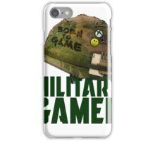 Military Xbox Gamer iPhone Case/Skin