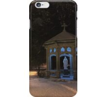 Saint Mary's College in the Snow iPhone Case/Skin