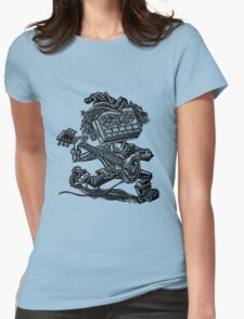 Eight Track Recorder Guitar Player Womens Fitted T-Shirt