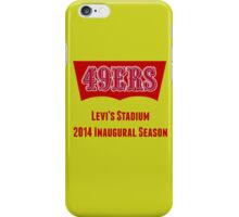San Francisco 49ers Levi's Stadium with Text iPhone Case/Skin