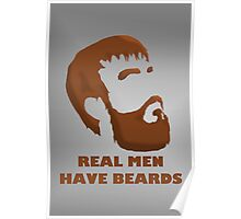 Real Men Have Beards Poster