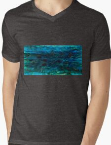 Reef and Rainforest dreamscape Mens V-Neck T-Shirt