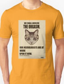 Orwellian Cat Has Some ISSUES T-Shirt